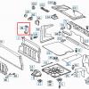 R129 Tapa de la caja del fusible 1296940195