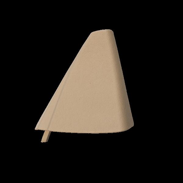 C124 Triángulo de espejo de puerta - automático (A124, E320) 1247201811