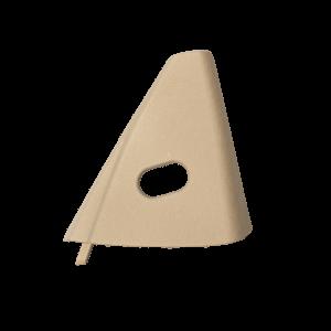 C124 Triangolo dello specchio della porta - manuale (A124, E320) 1247201811