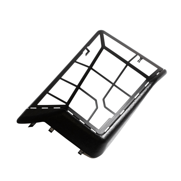 C126, Mercedes-Benz - C126 Rear speaker grille cover (W126 SEC, SEL) 1268270224, A1268270124 - OCTOCLASSIC