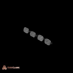W123 Tornillo de la tapa bajo el tablero de instrumentos (4 piezas) 1239880035