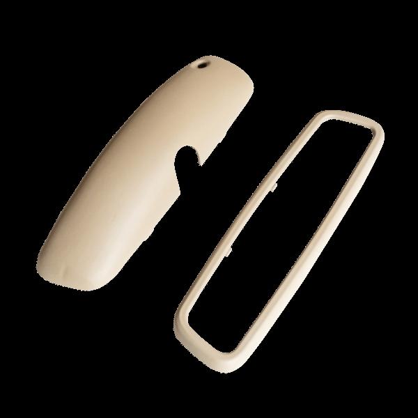 R129 A124 Rear-view Mirror Cover - 1298110635 (frame + shell)