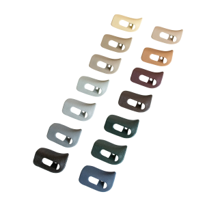 R129 A124 Sun Visor Trim Covers set - A1298110661