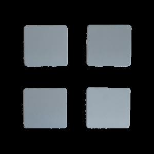 R129 Copertura del punto di sollevamento, set 4 pezzi (A1296982730 A1296982630R A1296982530L)
