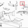 R129 Verriegelungsknopf für den Armlehnenbezug A1296830155