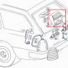S124 Tapa de la tercera luz de freno (3ª, TD, TE, E320, w124 station wagon) 1248200656