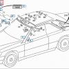 a124, Mercedes-Benz, R129, W124 - R129 A124 Make-up vanity mirror (v3) (SL, W124 Cabriolet, convertible, drop top) 1298102317 - OCTOCLASSIC
