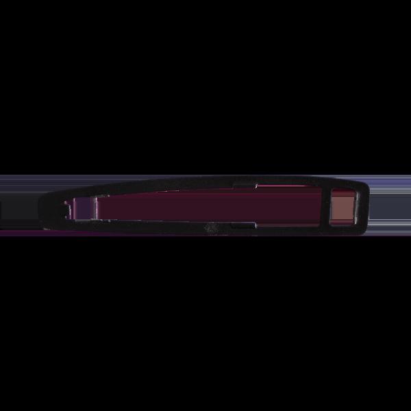 W123 Chrom-Türgriffdichtung hinten (S123, Außen, 1237660005 S)