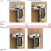 C126 C124 Kit de reparación del alimentador del cinturón de seguridad  (w126 SEC, W124 Coupe) 1248600982