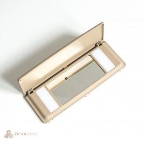 C140 Espejo de maquillaje/ espejo de cortesía (Mercedes W140 CL)