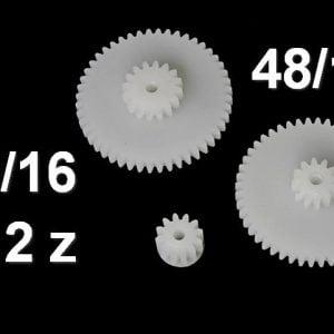 Odometer Speedometer VDO MILES Gears Repair 48/17 , 48/12, 12 teeth (Mercedes: W107 W124 W126 E500 and BMW: E24 E28 E30)