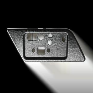 W124 E500 Tapa del interruptor del asiento - izquierda o derecha (Mercedes)