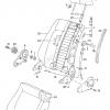 VW Golf Seat Release Fold Side Trim (191 881 607)